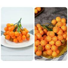 Neues Angebot43PCS/Clusters Simulation Orange Food Ornaments for Home Kitchen Party Display