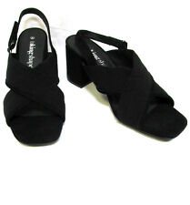 sz 6 /37 TS TAKING SHAPE Emma Block Heel Sandal black slingback shoes NIB rp$150