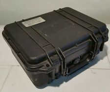 "Pelican Protector Black Case Camera Lens Gun Electronics 12"" x 9.25"" x 5"""