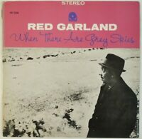 Red Garland When There Are Grey Skies Prestige SMJ-6582 JAPAN VINYL LP JAZZ