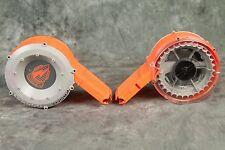 Nerf N-Strike Drum Clip 35 Round foam dart Magazine Cartridge ***LOT OF TWO***