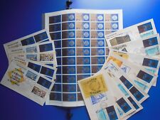 50x Philippine National Bank Stamp Sheet 11 FDC's 1966/1970 RARE Collection Lot