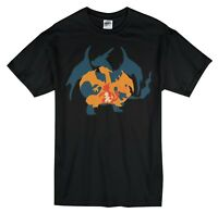 Pokemon Charizard Evolution T-Shirt