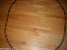 MODEL POWER HO SCALE STARTER TRAIN TRACK SET ABOUT 45 X 36 INCHES OF OVAL TRACK