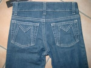 (C350) Little Marc Jacobs Girls Capri Jeans 5 Pocket Hose Logo Stickerei gr.116