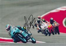 Raúl Vázquez mano firmado Leopardo Racing 12X8 Foto MotoGP, BSB, WSBK 1.