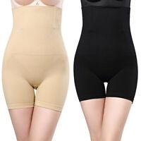 Femme Shorts Sculptant Taille Haute Effet Amincissant et Ventre Plat Bodyshaper