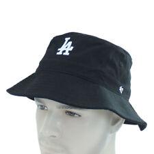Los Angeles Dodgers La 47 Bucket Hat Mens Cap Unisex One Size OSFA Fishing Black