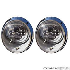 John Audette LED Headlight Set, 911 (65-94), Porsche, Clear Aftermarket Lens