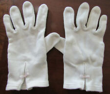 NWT Gymboree~White Stretchy Dress Gloves  Size M 5-7 Yrs Communion Cotillion