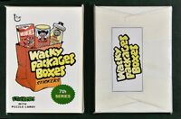 2018 Lost Wacky Packages Box Stickers Series 7 Complete Set Sealed