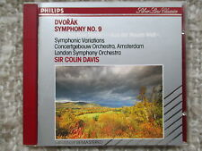 Dvorak Symphony No.9 Symphonic Variations - Colin Davis - CD no ifpi full silver