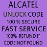 ALCATEL PERMANENT NETWORK UNLOCK CODE FOR ALCATEL OT-9002X