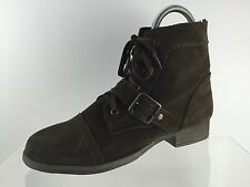 Zigi Soho Womens Brown Leather Ankle Boots 10 M