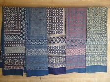 wholesale INDIAN TAPESTRY HAND BLOCK PRINTED AJRAKH WALL HANGING set of 5 pieces