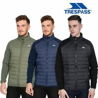 Trespass Mens Fleece Jacket Full Zip Black Navy Green Padded Heavyweight Casual