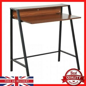 Vintage Writing Desk Pc Laptop Study Office Table Industrial Small Furniture New