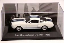 Altaya 1:43 Ford Mustang Shelby GT 350H 1965 Car Diecast Models Collection White