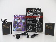 AZDEN WLX-PRO VHF Wireless Lapel Microphone System