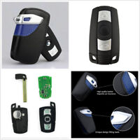 Smart Remote Key Fob Replacement 315Mhz Uncut Blade w/Bag For BMW 1 3 5 7 Series