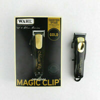 Wahl Cordless Magic Clip Clipper Black & Gold Limited Edition Set 8148