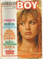 Rivista BOY n.49 del 9 Dicembre 1976. In copertina Dalila Di Lazzaro, no inserto