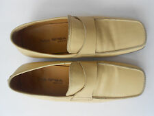VIA SPIGA LEATHER LOAFERS MEN SIZE US 10 NICE MADE IN ITALY