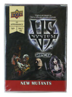 Upper Deck Vs System 2PCG X-Men New Mutants Expansion Marvel Comics UD New