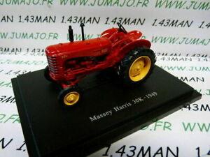 TR17 Tracteur 1/43 universal Hobbies MASSEY HARRIS 30K 1949