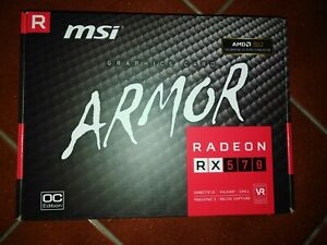 SCHEDA VIDEO MSI RADEON RX 570 ARMOR OC EDITION