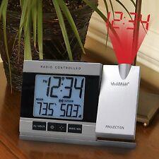 La Crosse Technology Projection Alarm Clock with Indoor/Outdoor Temperature