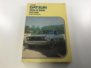 CLYMER A151 DATSUN 1200 & B210 1971-1978 SHOP MANUAL,4TH EDITION, 8TH PRINTING