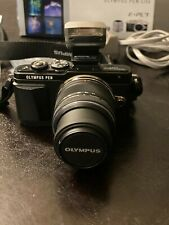 Olympus PEN E-PL7 16.1MP Digital Camera - BLACK (Kit w/ 14-42mm Lens)