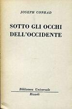 Joseph Conrad = SOTTO GLI OCCHI DELL'OCCIDENTE BUR 911-914