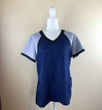 New listing Grey's Anatomy Active Size Large Scrub top Blue/Gray