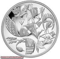 CANADA $20 FINE SILVER COIN - CANADIAN CONTEMPORARY ART- CARLITO DALCEGGIO 2013