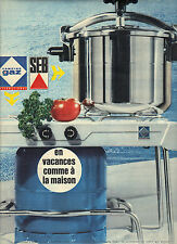 PUBLICITE 1966  SEB  la cocotte