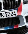 BMW OEM Performance F06 F12 F13 M6 Front & Rear Tri Color M Stripe Decal Set New