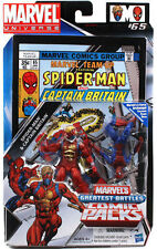 MARVEL Universe WAVE 9 FUMETTO 2-Pack: SPIDER-MAN & CAPITAN BRETAGNA
