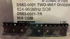 1x  M/A COM DS52-0001 , 2 WAY DIVIDER 824-960Mhz SO-8