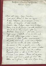 Sonetto Satirico per Cattolici e Papa Pier Maria Chini de' Minimi A. Tetide 1765