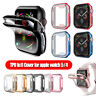 Electroplate TPU Case iWatch 40mm 44mm Screen Protectors for Apple Watch 5 4