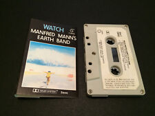 MANFRED MANN'S EARTH BAND WATCH 1ST PRESS AUSTRALIAN CASSETTE TAPE