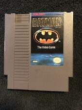 NES Nintendo Entertainment System 1990 Sunsoft Batman The Video Game