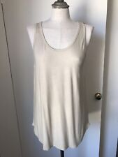 Majestic Paris Metallic Gold Supersoft Tank 3 BNWT