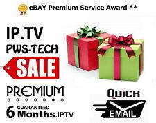 6 mesi REGALO IPTV per Openbox v8s F5 F3 V9 zgemma SKYBOX AMIKO VU + Duo