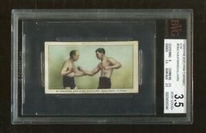 Al Kaufman Mike Sullivan 1910 Philadelphia Caramel E79 #NNO BVG 3.5