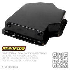 "AEROFLOW FABRICATED ALLOY TURBO 400 AUTO 3"" DEEP PAN [HOLDEN VB COMMODORE] BLACK"