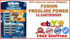 Gillette Fusion PROGLIDE POWER 2X PREFERRED FLEXBALL HANDLE (14 Cartridges CD )