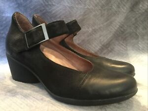 Dansko Roxanne Black Mary Janes Casual Shoes Womens Size 37
